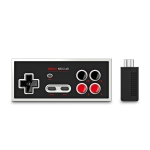 8Bitdo N30 2.4G Retro Wireless Controller Gamepad with Bluetooth Receiver