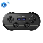 8Bitdo N30Pro2 Bluetooth Wireless Gamepad Game Controller Support NS For Computer Mobile Phones Vibration Body Induction (Black)