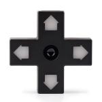 8BitDo Dpad USB hub Dpad HUB 1 input 3 USB Charge Ports 2.0/1.1 Directional pad shaped Hub