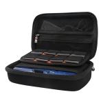 BUBM Multi-function Portable Game Machine EVA Storage Bag Protective Box for Nintendo 3DSLL (Black)