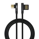 BUBM Type-C / USB-C Game Machine Charging Line for Nintendo Switch, Length : 1.5m (Black)