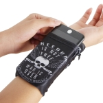 Multi-functional Universal Sports Arm Bag Phone Bag Wrist Pack  for 5.5 Inch or Below Smartphones,  Size : 16.5x11cm (White Skull)