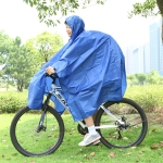 3 in 1 Aotu AT6927 Multifunctional Outdoor Camp Riding Raincoat Picnic Blanket,  Size: 217x143cm (Blue)