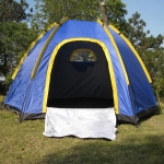 Aotu AT6503 Outdoor Camping Glass Fiber Rod Waterproof Tent, Size: 240x210x130cm