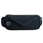 Multi-functional Sports Waterproof Waist Bag for Under 6 Inch Screen Phone, Size: 22x10cm (Black)