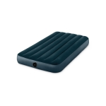 Intex 64732 Outdoor Camping Flocking Air Inflatable Mat Moisture-proof Cushion Mattress Sleeping Pad, Single, Size: 191x99x25cm