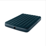 Intex 64733 Outdoor Camping Flocking Air Inflatable Mat Moisture-proof Cushion Mattress Sleeping Pad, Double, Size: 191x137x25cm