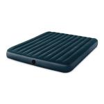 Intex 64734 Outdoor Camping Flocking Air Inflatable Mat Moisture-proof Cushion Mattress Sleeping Pad, Double, Size: 203x152x25cm