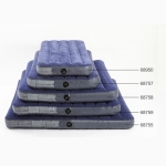 Intex 68759 Outdoor Camping Flocking Air Inflatable Mattress Moisture-proof Cushion Mattress Sleeping Pad, Size: 152x203x22cm