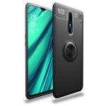 lenuo Shockproof TPU Case for OPPO F11 / A9, with Invisible Holder (Black)