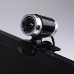 HXSJ A860 30fps 12 Megapixel 480P HD Webcam for Desktop / Laptop, with 10m Sound Absorbing Microphone, Length: 1.4m(Black)