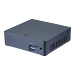 Intel Core I5-8250U 8G+128G Quad Core 1.6-3.4GHz Smart Mini PC, Support Bluetooth 4.0 & 2.4G / 5.0G Dual-band WiFi & RJ45 Gigabit Network Card
