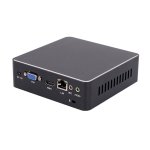 Mini PC, Intel Core 6th Generation i3 6100U, 4G+128G, Built-in Wireless Network Card(Black)