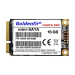 Goldenfir 1.8 inch mSATA Solid State Drive, Flash Architecture: TLC, Capacity: 16GB