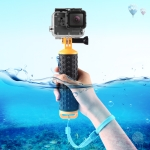 PULUZ Floating Handle Hand Grip Buoyancy Rods with Strap for GoPro NEW HERO /HERO7 /6 /5 /5 Session /4 Session /4 /3+ /3 /2 /1, DJI Osmo Action, Xiaoyi and Other Action Cameras