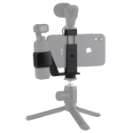 PULUZ Metal Phone Clamp Mount + Expansion Fixed Stand Bracket for DJI OSMO Pocket