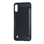 Carbon Fiber Anti-slip TPU Protective Case for Galaxy M10 (Black)