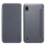 NILLKIN Frosted Texture Horizontal Flip Leather Case for Galaxy A10 (Grey)