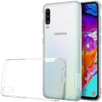 NILLKIN Nature TPU Transparent Soft Case for Galaxy A70 (White)