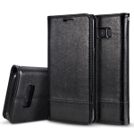 Litchi Texture Horizontal Flip Leather Case for Galaxy S10, with Holder & Card Slots & Sling (Black)