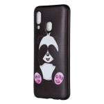 Embossed Painted Panda Pattern TPU Case for Galaxy A40