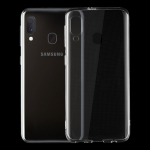 0.75mm Ultrathin Transparent TPU Soft Protective Case for Samsung Galaxy A20E