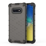 Shockproof Honeycomb PC + TPU Case for Galaxy S10e (Black)