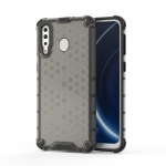 Shockproof Honeycomb PC + TPU Case for Galaxy M30 (Black)