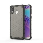 Shockproof Honeycomb PC + TPU Case for Galaxy M20 (Black)