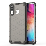 Shockproof Honeycomb PC + TPU Case for Galaxy A30 (Black)