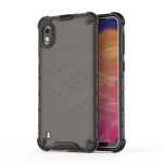 Shockproof Honeycomb PC + TPU Case for Galaxy A10 (Black)