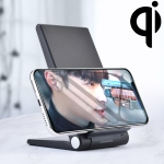 A10 10W QI Standard Intelligent Induction Creative Folding Wireless Charger Bracket (Black)
