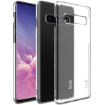 IMAK Wing II Wear-resisting Crystal Pro Protective Case for Galaxy S10, with Screen Sticker (Transparent)