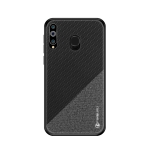 PINWUYO Honors Series Shockproof PC + TPU Protective Case for Galaxy M30 (Black)