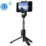 Honor Bluetooth 3.0 Mobile Phone Adjustable Bluetooth Wireless Selfie Stick Self-timer Tripod (Black)
