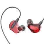 QKZ CK2 HIFI In-ear Four-unit Music Headphones (Red)