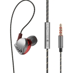 QKZ CK7 Fashion Sports Bass Music Headphones (Grey)