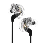 QKZ VK1 Plug-in Design Four-unit Music Headphones, Support for Changing Lines Basic Version