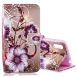 Lotus Pattern Horizontal Flip Leather Case for Sony Xperia L3, with Holder & Card Slots & Wallet