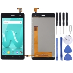LCD Screen and Digitizer Full Assembly for Wiko Jerry 2 (Black)