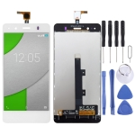 LCD Screen and Digitizer Full Assembly for BQ Aquaris A4.5 (White)