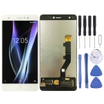 LCD Screen and Digitizer Full Assembly for BQ Aquaris X / X Pro (White)