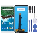 LCD Screen and Digitizer Full Assembly for BQ Aquaris X2 / X2 Pro (White)