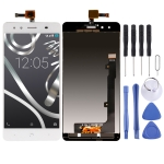LCD Screen and Digitizer Full Assembly for BQ Aquaris X5 (White)