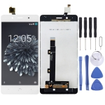 LCD Screen and Digitizer Full Assembly for BQ Aquaris X5 Plus (White)
