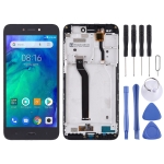 LCD Screen and Digitizer Full Assembly with Frame for Xiaomi Redmi Go (Black)