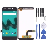 LCD Screen and Digitizer Full Assembly for Wiko Wim Lite(Black)