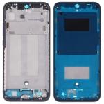 Middle Frame Bezel Plate with Side Keys for Xiaomi Redmi 7 (Black)