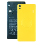 Battery Back Cover for Lenovo K30 Note(Yellow)