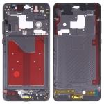 Original Front Housing LCD Frame Bezel Plate with Side Keys for Huawei Mate 20 (Black)